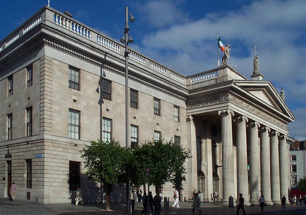 budova Hlavní pošty v Dublinu, Irsko